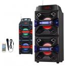 Boxa Portabila FM SD USB MP3 MIC Telecomanda Ailiang AL3522DT