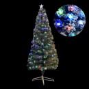 Brad Artificial de Craciun Nins cu LEDuri Multicolore 180cm BP