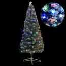 Brad Artificial de Craciun Nins cu LEDuri Multicolore 210cm BP