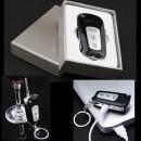 Bricheta Electrica USB Breloc Cheie Auto tip Briceag cu Laser 001158