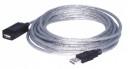 Cablu USB Prelungitor Ecranat 5m