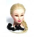Cap de Practica Pupeta Coafor Par Blond 65cm