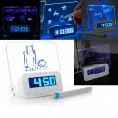 Ceas Digital Afisaj LCD cu mesaj personalizat Message Board Clock ZL20133