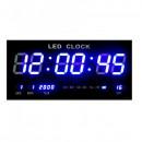 Ceas Digital de Perete, cu Display Mare si Afisaj Albastru JH4622