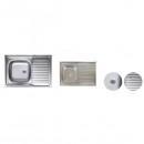 Chiuveta Inox 430 Masca Sanitec S416 500x800mm