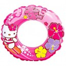 Colac inot gonflabil copii Hello Kitty Intex 56210NP 61cm