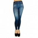 Colanti Jeggings Slim and Lift Caresse Jeans Albastri