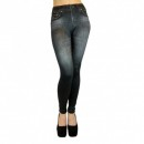 Colanti Jeggings Slim and Lift Caresse Jeans Negri