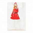 Costum Craciunita tip Catifea pentru Femei 5491IF