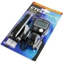 Dispozitiv electronic pentru masurarea vitezei si a distantei pentru biciclete