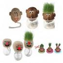 Domnul Cap de iarba Jucarie Educativa si Decorativa cu par din Gazon