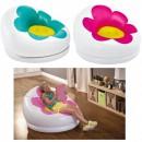 Fotoliu Gonflabil pentru Copii Imprimeu Floare Intex 68574
