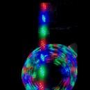 Furtun Luminos 50m cu Banda 108LED SMD/ml Jocuri Lumini Multicolore