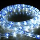 Furtun Luminos cu Banda 6000 LEDuri SMD Albe si Albastre Rola 100m TO