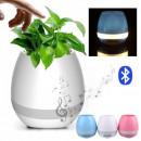 Ghiveci Plante Muzical Iluminat cu Boxa Bluetooth si Senzor Touch