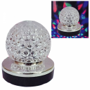 Glob Disco Jocuri de Lumini cu MP3 Player si Telecomanda Rotativ XX07