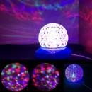 Glob Disco Rotativ cu Jocuri de Lumini RGB 220V Pineapple Lamp