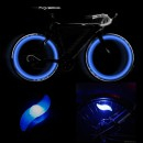 Hot Wheels LED Albastru Decorativ pentru Spite Bicicleta