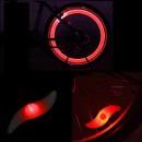 Hot Wheels LED Rosu Decorativ pentru Spite Bicicleta