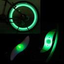 Hot Wheels LED Verde Decorativ pentru Spite Bicicleta