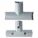Imbinare Tripla pentru Bagheta Tub LED Modular