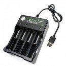 Incarcator 8 Tipuri Acumulatori 3.7V Li-Ion Cablu USB  BH04210004U