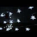 Instalatie Ghirlanda 10 Stele Luminoase 50 LED Alb Rece 2.5m NP TO