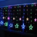 Instalatie Ghirlanda 12 Stele Luminoase Multicolore 3x1m P FI MRL