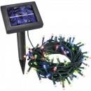 Instalatie Luminoasa Solara Craciun 10m 100LED Multicolor Fir Negru 8009 CL