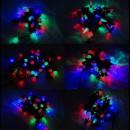 Instalatii Luminoase Craciun Snur 4m 40LED RGB  Diverse Forme VR8m