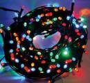 Instalatii Luminoase Fir Verde Exterior Prelungibile 7m 80LED Multicolora TO