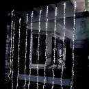 Instalatii Digitale Luminoase Craciun Perdea 900 LEDuri Albe 2.5x3m BZ