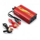 Invertor Auto 12V la 220V si USB 500W, Clesti si Priza Auto