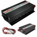 Invertor Auto 24V la 220V 1000W Real Cabluri Clesti Kemot URZ3166
