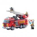 Joc tip Lego City Masina Pompieri Enlighten 904 cu 364 Piese