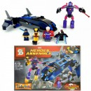 Joc tip Lego Heroes Assemble SY308 356 Piese