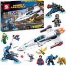 Joc tip Lego Heroes Assemble SY356 592 Piese