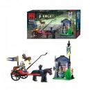 Joc tip Lego Post Cavaleri Enlighten 1016 cu 84 Piese