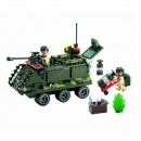 Joc tip Lego Tanc Blindat Enlighten 814 cu 167 Piese