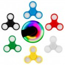 Jucarie Spinner Antistres, Luminos cu LED RGB Fidget Spinner