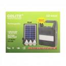 Kit Incarcator cu Panou Solar si 3 Becuri LED GdLite GD8026 6V4Ah