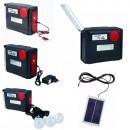 Kit Solar Lanterna 30LED SMD, 3 Bec, Radio si SD, 12V, 220V YJ1980TSYK