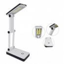 Lampa de birou pliabila 2x3W COB LED Alimentare USB Baterii HGBL018