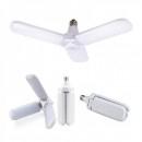 Lampa LED cu 3 Brate Mobile Ajustabile Fan Blade E27 6500K 45W