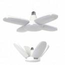 Lampa LED cu 4 Brate Mobile Ajustabile Fan Blade E27 6500K 60W
