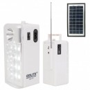 Lampa Solara LED 1+12LED 1W 220V Radio FM si USB GDLite GD1111