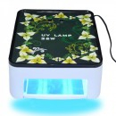 Lampa UV 36W Design Floral Uscare Rapida Gel Unghii si Oja Semi SM301