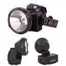 Lanterna Frontala LED 1W Incarcare Solara si 220V GDLite GD215S