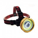 Lanterna Frontala LED 3W cu Acumulator 220V TD852C