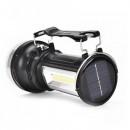 Lanterna LED 1W+3W COB LED Acumulator Incarcare Solara si 220V KC668